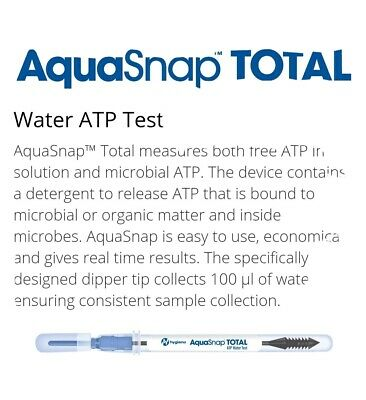 Hygiena AquaSnap TOTAL x100 Swabs