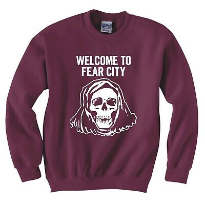 100946 Welcome To Fear City New York Retro Decor LAMINATED POSTER US