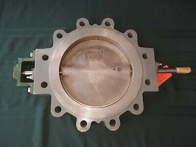 Fisher F26993 Butterfly Valve Stainless Steel 12 Diameter CF8M Actuated Heavy