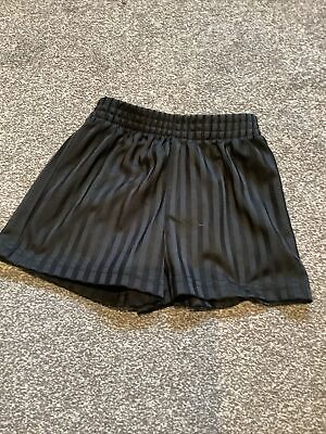 Black PE Shorts 3-4 Years