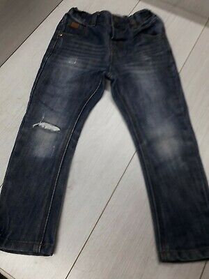 Boys blue ripped jeans age 2-3 years from Next