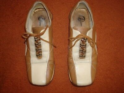 Italian Leather Lace Up Shoes Size 5