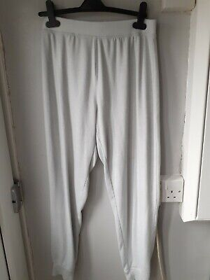 Ladies Light Greeny Blue Soft Tracksuit Lounge Bottoms Size Medium
