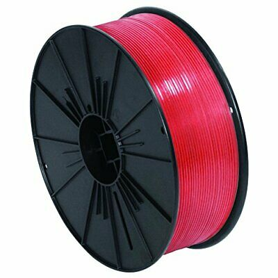 "Ship Now Supply SNPLTS532R Plastic Twist Tie Spool 5/32"" x 7000' Red Pack of 1"