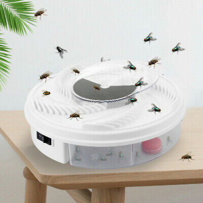 Revolving Electronic Fly Trap USB Type Useful