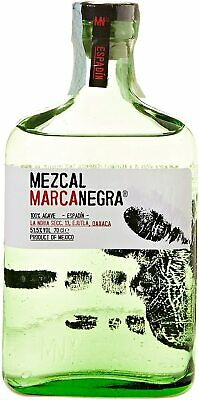 Mezcal Marca Negra Espadin Product Of Mexico 100% Agave Bottiglia 700 ML 51.5%