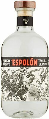 Tequila Blanco El Espolon 100% Puro Agave 700 Ml 40% Gradi Product Of Mexico