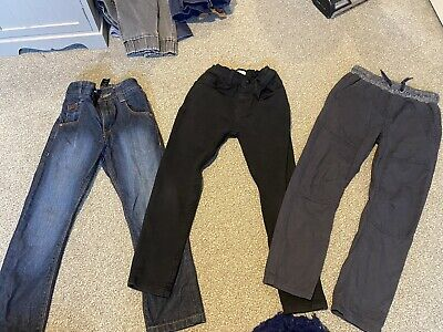 Boys Age 6-7 Bundle Jeans And Trousers