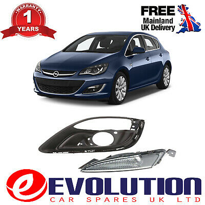 A Pair Of Front Left Bumper Fog Cover & Signal Lamp Cover Opel, 1401021, 1226160