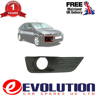 Rh/ Right/ Driver Side Fog Lamp Frame Fits Ford Focus Mk2 2005 To 2016