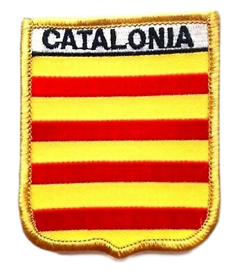 Catalonia Spain Embroidered Patch