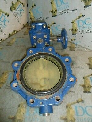 """Grinnell Lc-8281-7-Da Series 8000 6"""" 250 Wp Butterfly Valve #26"""
