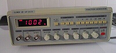 Elenco Function Signal Generator Gf-8026, Gently Used, Tested Excellent
