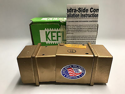 "NEW! KEFLEX 7Q Compensator 1-1/2"" NPT Max Pipe Fitting Exp Joint - FREE SHIPPING"