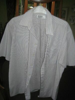 Marks and Spencer Men's Short Sleeve Shirt Size 16, 1DEC19