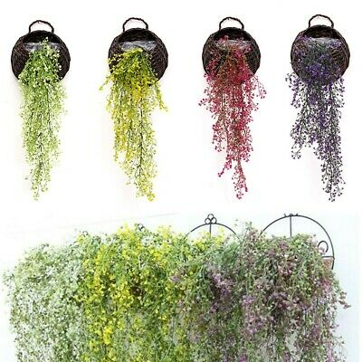Artificial Ivy Vine Fake Flower Hanging Leaf Garland Plant Home Wedding Decor