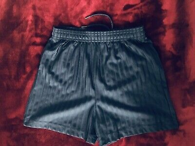 M&S Navy Blue PE Sports Shorts Age 5-6 Years Excellent Condition School Uniform