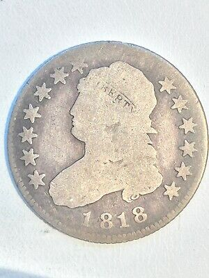 1818 Capped Bust Quarter #769