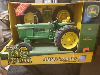 Ertl Big Farm 1/16 John Deere 4020 Tractor With Lights And Sound
