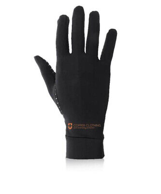 Copper Clothing Anti-microbial Copper Compression Gloves Size Large BNWT Kp48