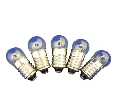 Ajax Scientific EL010-0250 Miniature Light Bulb, 2.5V, 0.50 Amp Pack of 10