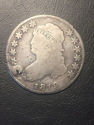 1819 capped bust quarter