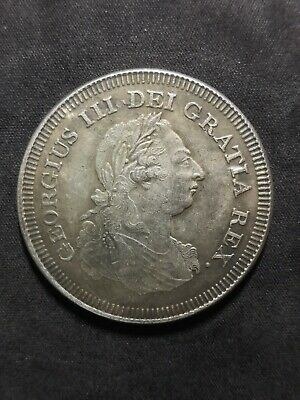 Coin United Kingdom 5 British shilling, 1804 king George 3