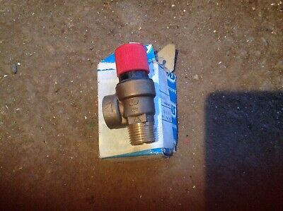 SYR 15mm/1/2 3bar pressure release valve NOS see photos