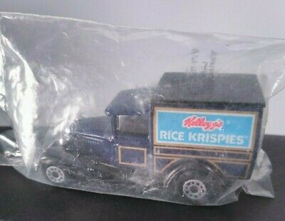 NEW Kellogg's Rice Krispies Matchbox Model A Ford Die-Cast Delivery Truck 1979