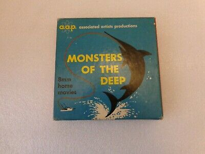 Associated Artists Productions 8mm Film Monsters of the Deep