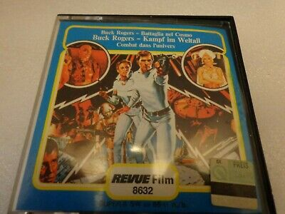 Buck Rogers German Foreign 8mm Kampf Im Weltall by REVUE