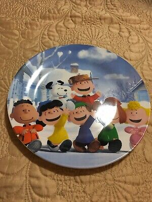 Peanuts Characters Collectible 9 Inch Plate By Maud Borup Est. 1907