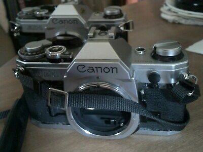 Lot Of  2 Canon  Ae 1 Sold As Parts Items  But