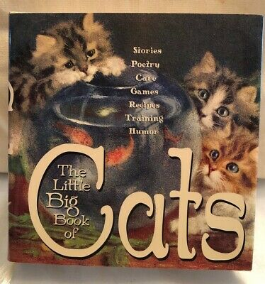 The Little Big Book of Cats, Hardback / Cat fans / For the love of cats