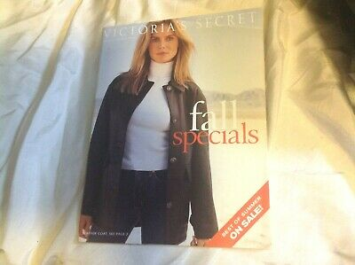 Vintage Victoria's Secret Fall Specials Issue,2000.Klum,Tyra Banks,Etc.More >