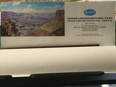 Collectible souvenir Grand Canyon Hotel lodge, cabin and hotel stationery