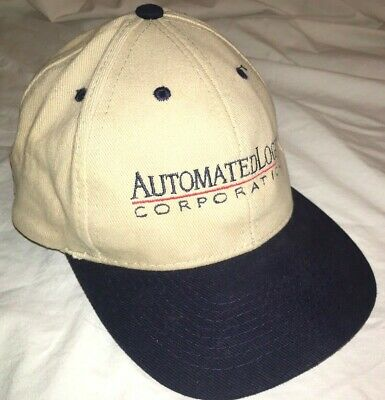 Vtg AUTOMATED LOGIC CORPORATION HAT Baseball Cap ATLANTA GEORGIA