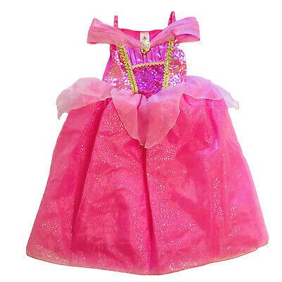 NWT Disney Store Aurora Deluxe Nightgown Costume Girl Sleeping Beauty Maleficent