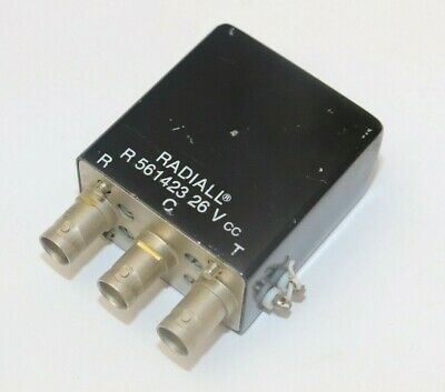 Radiall R565423129 Coaxial Relay 0-18 GHz 24-30 Vdc