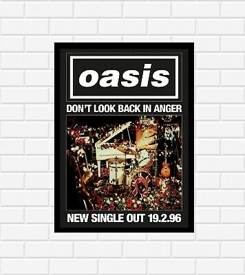 Oasis Don't Look Back In Anger Poster