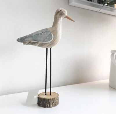 bathroom decor nautical shelf decoration Details about  /Tin puffer fish  on wooden stand