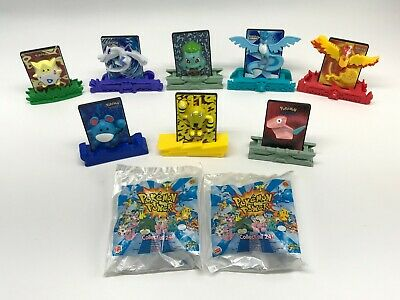 Pokemon Lot of 24 Burger King Collectible Toy Pokemon Movie 2000 Power Cards 3D