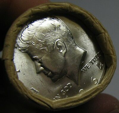 Ben Franklin 90/% Silver Half Dollar 1 $10 FV Unsearched Bank Wrap Coin Roll