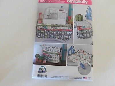 Sewing Room Accessories Simplicity Sewing Pattern 8822