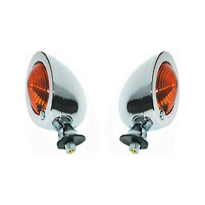 INDFSLSS Details about  /Pair of Mini Motorcycle Flush Mount Fairing Indicators Smoked LENS