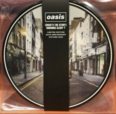 Oasis Whats The Story Morning Glory 25Th Anniversary Double Picture Disc Vinyl