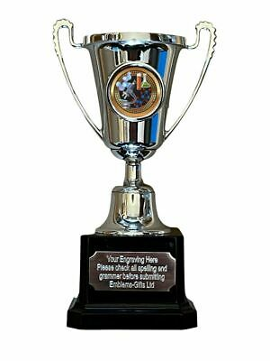 SILVER SWIMMING TROPHY COPENHAGEN CUP FREE ENGRAVING 554A