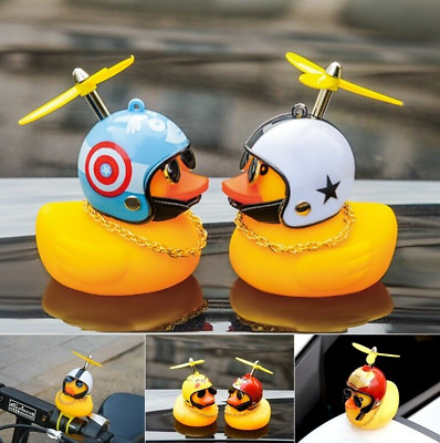 UK SELLER Rubber Duck Toy Yellow Duck Car Dashboard Decorations