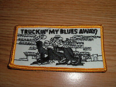 CRUMB TRUCKIN MY BLUES AWAY Iron-On Transfer by Roach Details about  /Vintage  Rare R