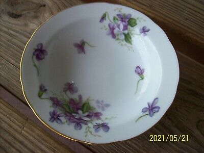 Vintage Spring Violets Rossetti Chicago USA Hand Painted FREE SHIPPING